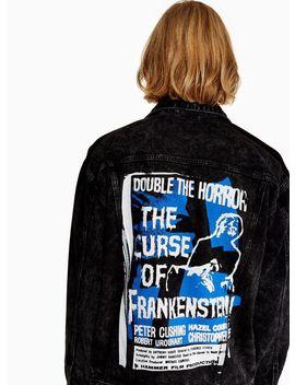 Topman X Hammer Horror Denim Jacket by Topman