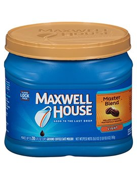 Maxwell House Ground Coffee, Master Blend, 26.8 Ounce by Maxwell House