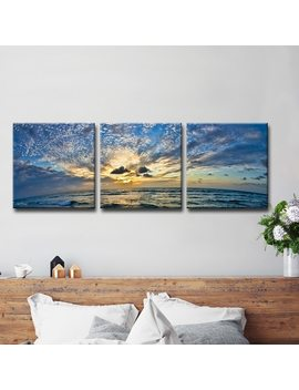 Christopher Doherty 'ocean' 3 by Ready2 Hang Art