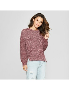 Women's Pullover Sweater   Universal Thread™ Burgundy by Universal Thread™
