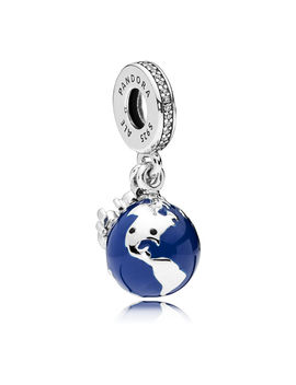 Mickey Mouse Globe Charm By Pandora by Disney