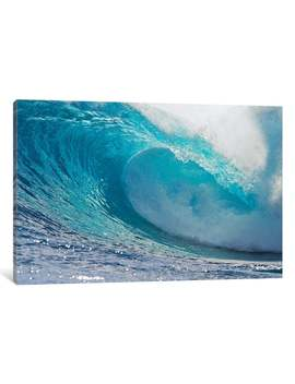 I Canvas Plunging Waves Ii, Sout Pacific Ocean, Tahiti, French Polynesia By Panoramic Images Canvas Print by I Canvas