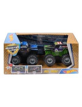 Hot Wheels Monster Jam Rev Tredz 2 Pack (Styles May Vary) by Mattel