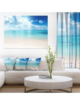sand-of-beach-in-blue-caribbean-sea by design-art