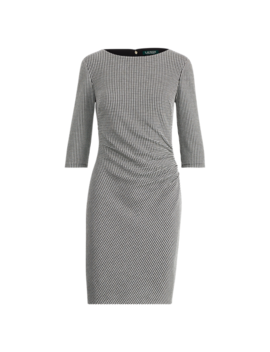 Knit Jacquard Sheath Dress by Ralph Lauren