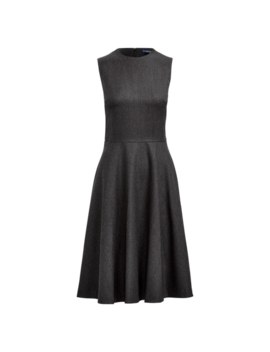 Wool A Line Dress by Ralph Lauren