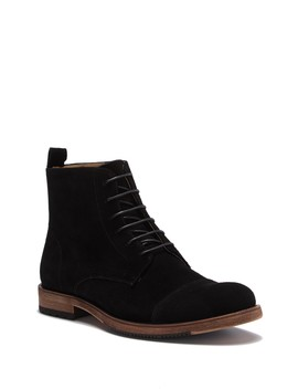 Swansea Suede Cap Toe Boot by English Laundry