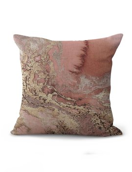 Wave Print Cushion Cover by Romwe