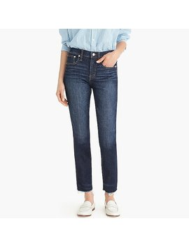 Vintage Straight Jean In Faded Midnight With Raw Hems by J.Crew