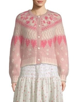 Jamie Heart Cardigan by Love Shack Fancy