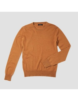 The Essential $75 Cashmere Sweater Dark Ginger by Naadam