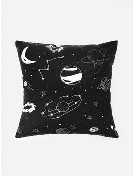 Universe Print Pillowcase Cover 1 Pc by Romwe