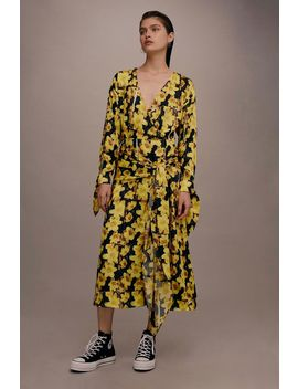 **Buttercup Wrap Dress By Boutique by Topshop