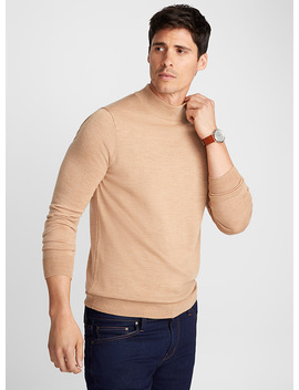 Merino Wool High Neck by Le 31