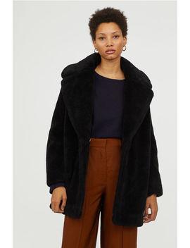 Пальто из искусственного меха by H&M