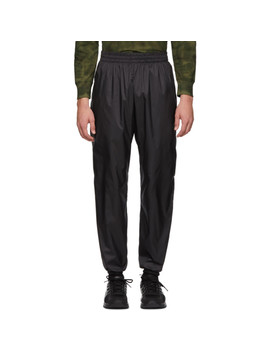 Ssense Exclusive Black Seher Jogging Lounge Pants by Gmbh
