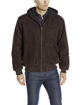 Levi's Men's Heavy Cotton Canvas Work Wear Kent Hoody Bomber by Levi%27s