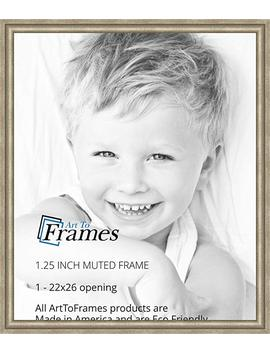 Art To Frames 22x26 Inch Muted Prosecco Gold Picture Frame, 2 Wombw275 1622 22x26 by Art To Frames