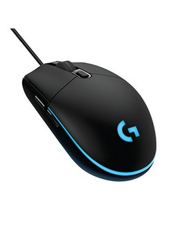 Logitech G203 Gaming Mouse, Optical 8000 Dpi, 16.8 M Colour Led, Customising Wired Gaming Mouse by Logitech