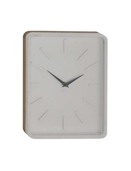 George Oliver Varney Vintage Rectangular Wall Clock by George Oliver