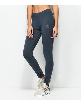 Adidas Boonix Charcoal Leggings by Adidas