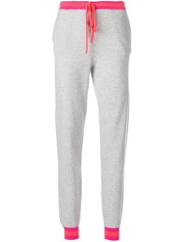 Striped Trim Tracksuit Bottoms by Chinti & Parker