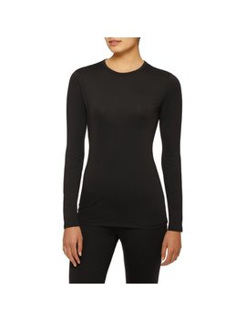 Climate Right By Cuddl Duds Women's Stretch Micro Top by Climate Right By Cuddl Duds