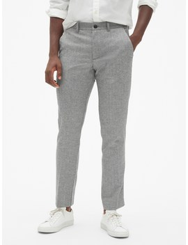 Wool Pants In Skinny Fit With Gap Flex by Gap