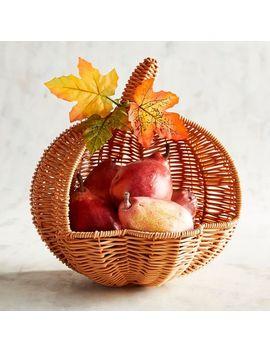 Pumpkin Fruit Holder by Grateful Harvest Collection