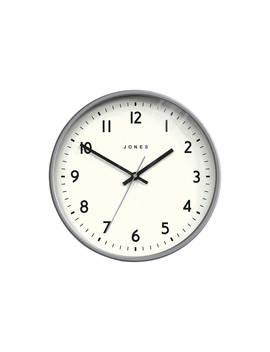 Jones Jam Wall Clock, Dia.30cm, Grey by Jones Clocks
