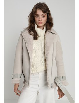 Hawley Shearling   Leather Jacket by All Saints