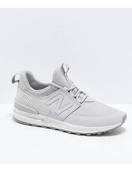 New Balance Lifestyle 574 Sport Decon Rain Cloud Shoes by New Balance
