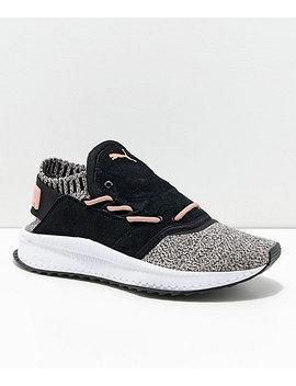 Puma Tsugi Shinsei Black & Whisper White Shoes by Puma
