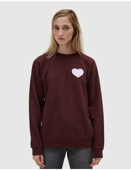 Lott Isoli Sweatshirt In Decadent Chocolate by Ganni