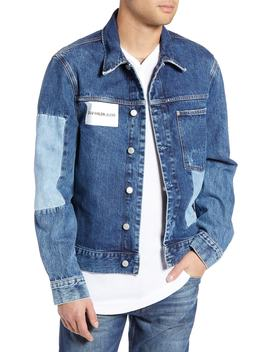Patch One Pocket Denim Jacket by Calvin Klein Jeans