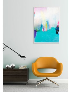Soft Pastel Wall Art, Abstract Painting Canvas Original, Large Fine Art Canvas, Modern Abstract Art, Acrylic Art, Camilo Mattis by Etsy