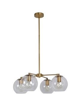 Menlo 4 Globe Chandelier Clear   Project 62™ by Shop Collections