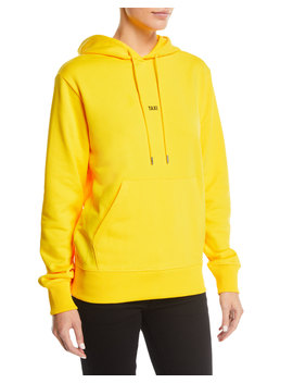 Taxi Graphic Cotton Pullover Hoodie by Helmut Lang