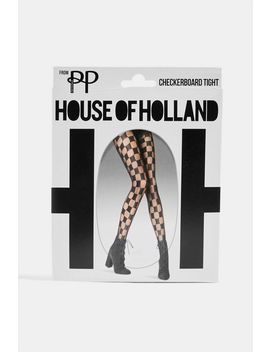 Checkerboard Tights By House Of Holland by Topshop