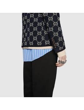 Gg Jacquard Jacket by Gucci