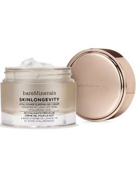 Skinlongevity Vital Power Sleeping Gel Cream by Bare Minerals