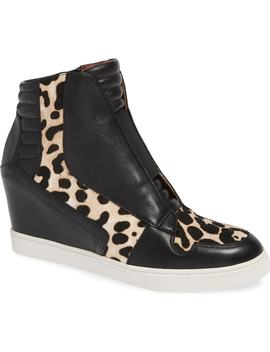 Filipa Ii Wedge Sneaker Bootie by Linea Paolo