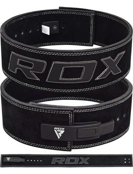 Rdx Leather Weight Lifting Training Gym Belt Power Lifting Lever Bodybuilding Ca by Rdx