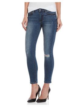 Heartbreaker Ankle Skinny Jeans by Bebe