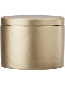 Little Seeds Metallic Ottoman In Gold by Bed Bath And Beyond