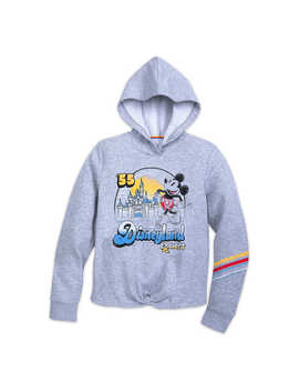 Mickey Mouse And Sleeping Beauty Castle Pullover Hoodie For Women   Disneyland by Disney