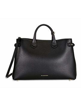 Burberry Women's Top Handle Bag Black Black by Burberry