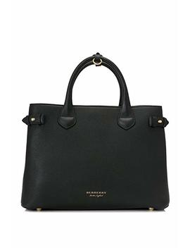 Hand Bags Burberry Women Leather Black, Check Burberry And Gold 4023693 Black 16x25x35 Cm by Burberry
