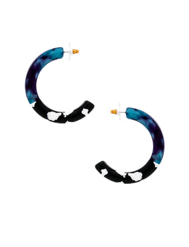 Broadway Hoop Earrings by Lele Sadoughi