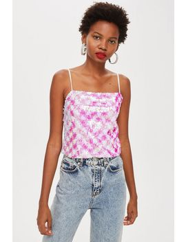 Sequin Cami Top by Topshop